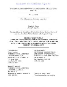 thumbnail of AMICUS BRIEF – Tuscaloosa v. Hicks