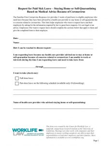thumbnail of Paid Leave Request Form – Self-Quarantine