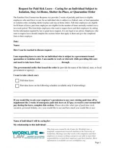 thumbnail of 2020-09-14 Paid Leave Request Form – Caring for Individual Subject to Government-Issued Isolation Order