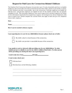 thumbnail of 2020-09-25 Paid Leave Request Form – Coronavirus-Related Childcare