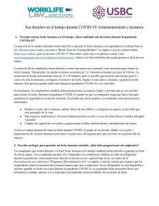 thumbnail of Sus derechos en el trabajo durante COVID-19- Amamantamiento y lactancia